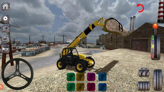 Excavator Simulator Backhoe Loader Dozer Game screenshot 14
