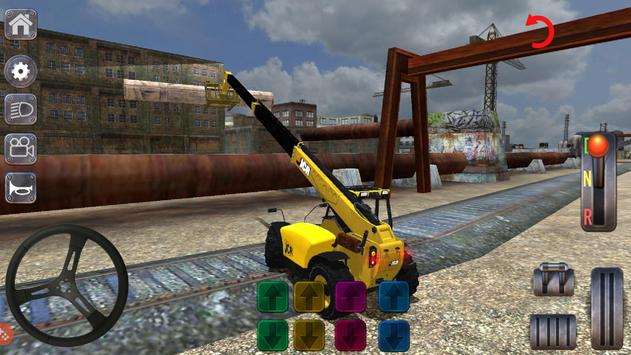 Excavator Simulator Backhoe Loader Dozer Game screenshot 2