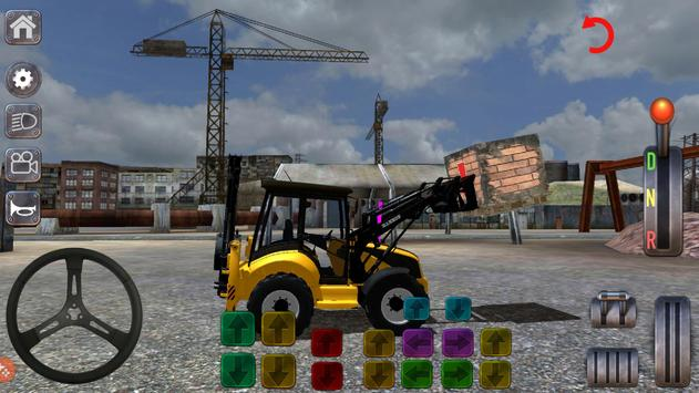 Excavator Simulator Backhoe Loader Dozer Game screenshot 5