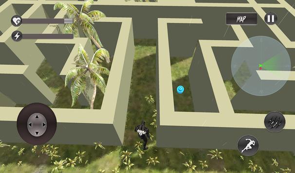 Venom Super hero Vs Zombie Fight Maze Runner screenshot 3