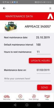 Ammann ServiceLink screenshot 6
