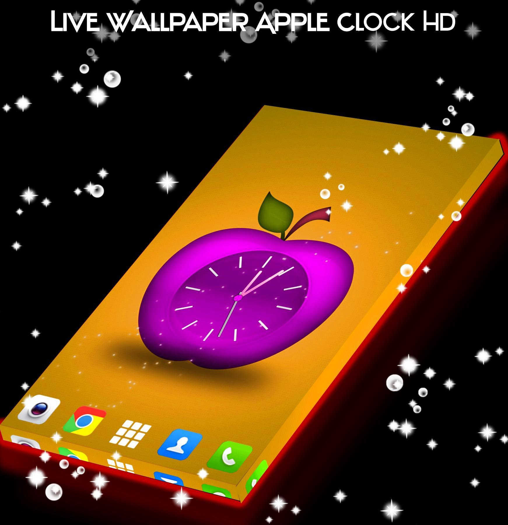 Wallpaper Hidup Jam Apple Hd For Android Apk Download