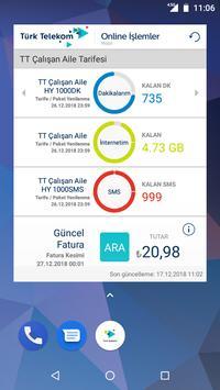 Türk Telekom Online İşlemler Ekran Görüntüsü 3