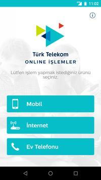 Türk Telekom Online İşlemler gönderen