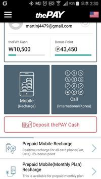 (thePAY)Prepaid Sim, Int'l call, E-load recharge poster