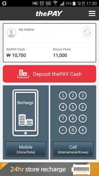 (thePAY)Prepaid Sim, Int'l call, E-load recharge screenshot 8
