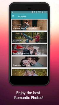 Love Images Wallpaper: Romantic Photos screenshot 1