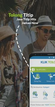 KLIK TOLONG - Jasa Titip, Tour Guide dan Service screenshot 1