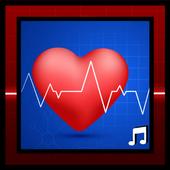 Heartbeat sounds, best fast heartbeat ringtones icon