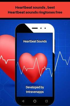 Heartbeat sounds, best fast heartbeat ringtones poster