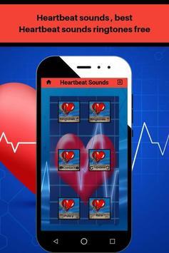 Heartbeat sounds, best fast heartbeat ringtones screenshot 1