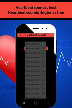 Heartbeat sounds, best fast heartbeat ringtones screenshot 2