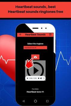 Heartbeat sounds, best fast heartbeat ringtones screenshot 3