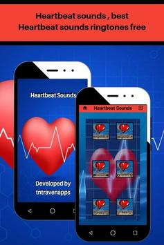 Heartbeat sounds, best fast heartbeat ringtones screenshot 4