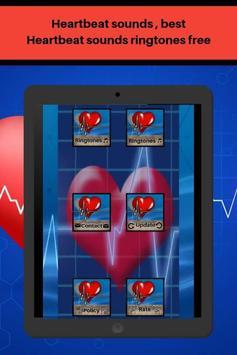 Heartbeat sounds, best fast heartbeat ringtones screenshot 5