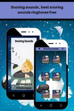 Snoring sounds, best loud snoring ringtones free screenshot 4