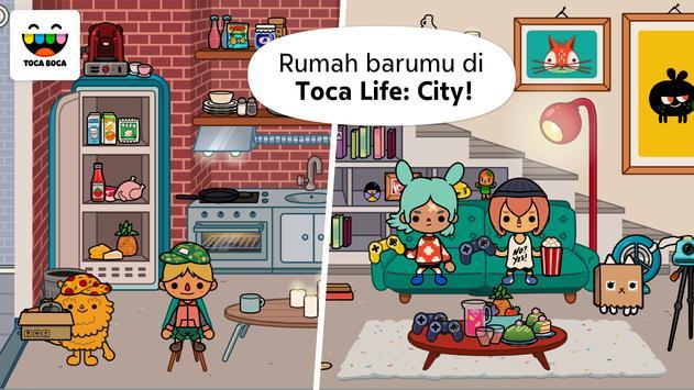 Toca Life: City poster