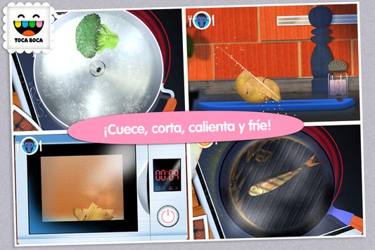 Toca Kitchen captura de pantalla 2