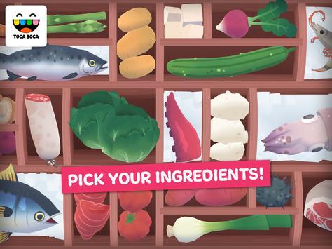 Toca Kitchen Sushi Restaurant ảnh chụp màn hình 1