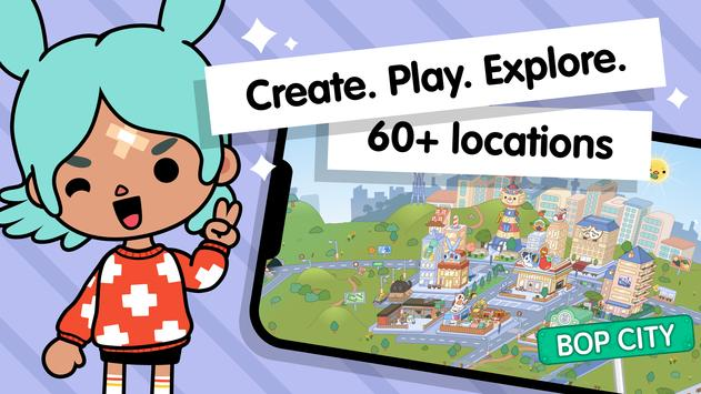 Toca Life World: Build stories & create your world screenshot 1