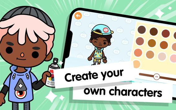 Toca Life World: Build stories & create your world screenshot 12