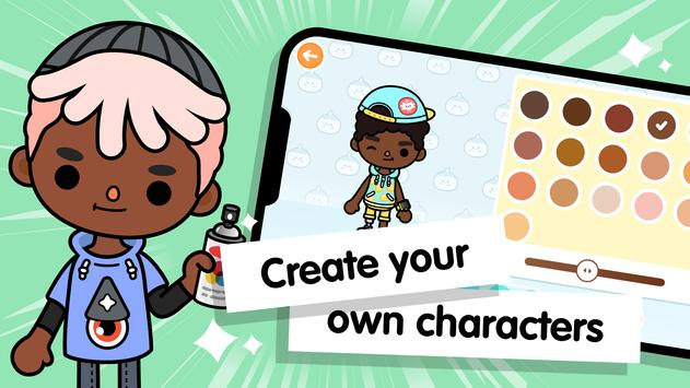 Toca Life World: Build stories & create your world screenshot 2