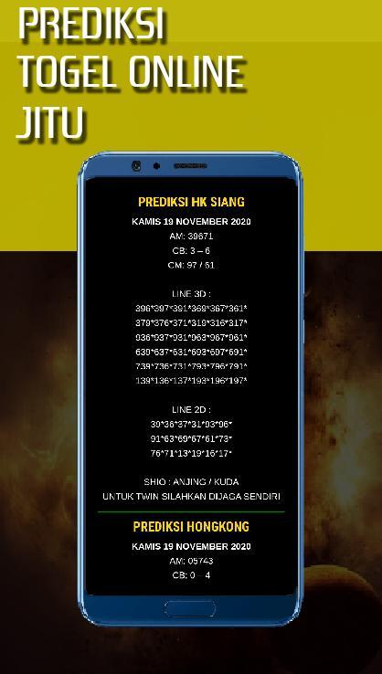 Prediksi Togel Jitu For Android Apk Download