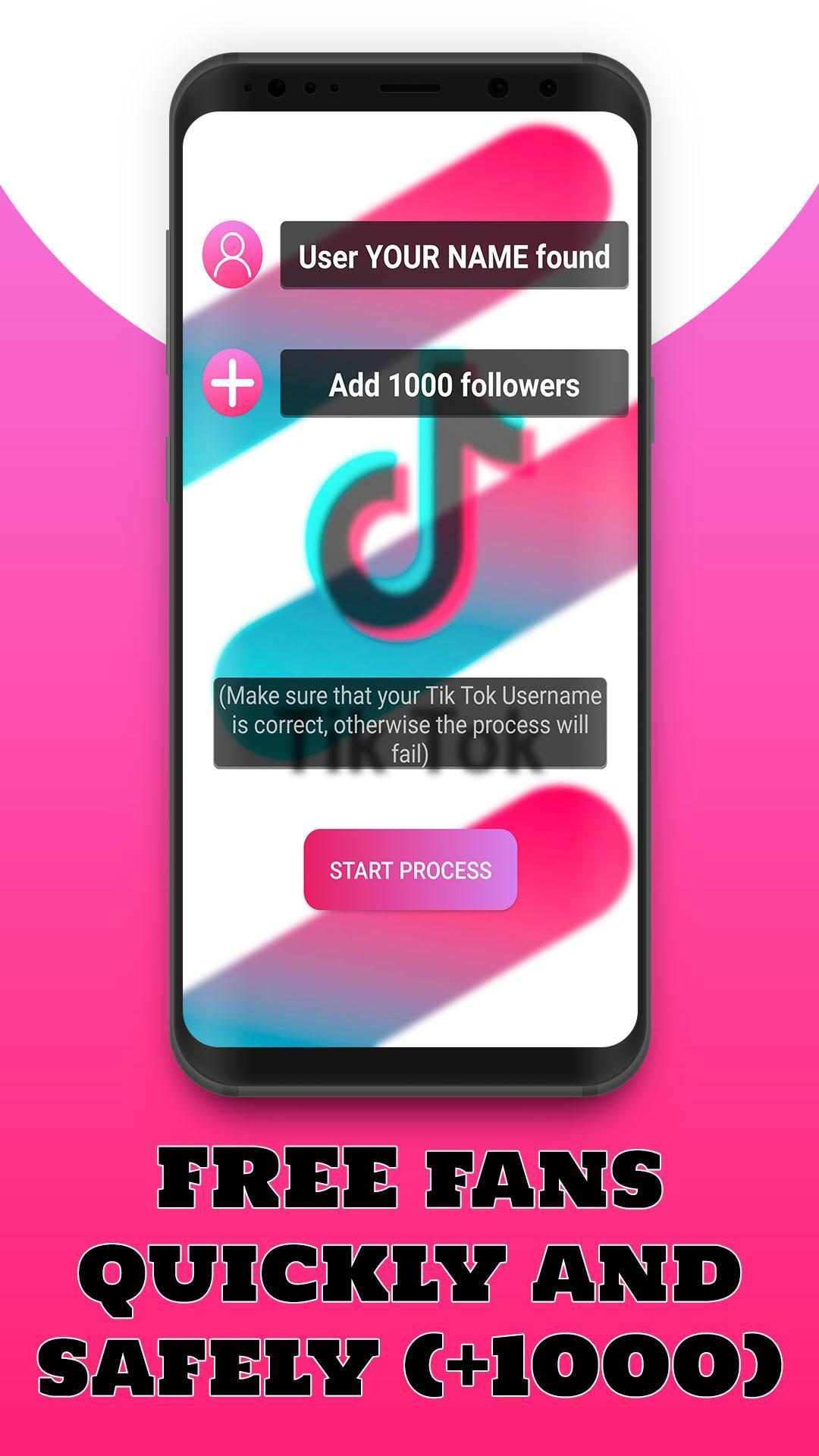 FollowTok 💖 Free Fans and Followers for Tik Tok for Android