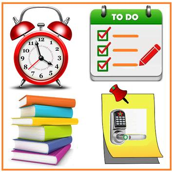 To Do List Notes Alarm Color Reminder Note Notepad poster
