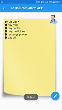 To Do List Notes Alarm Color Reminder Note Notepad screenshot 3
