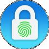 Icona Blocco schermo - impronta digitale