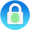 ikon Lock aplikasi - sidik jari