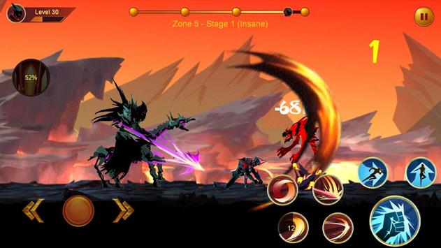 Shadow fighter 2: Shadow & ninja fighting games постер