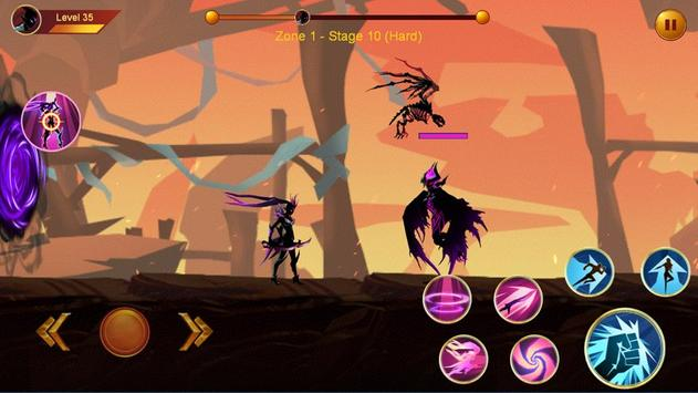 Shadow fighter 2: Shadow & ninja fighting games screenshot 1