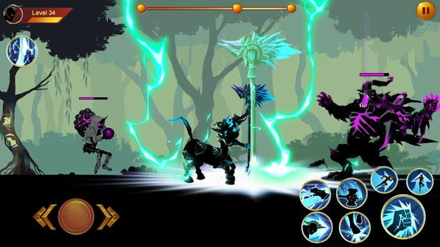 Shadow fighter 2: Shadow & ninja fighting games screenshot 2