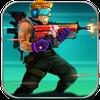 Soldados de metal: juego de disparos. icono
