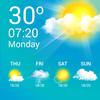 लाइव मौसम का पूर्वानुमान आइकन