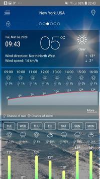 Weather Ekran Görüntüsü 2
