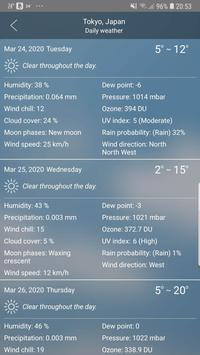 Weather Ekran Görüntüsü 9