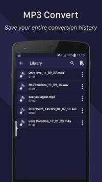Convertidor de MP3 captura de pantalla 4