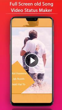 FullScreen Old Song Video Status Maker - 30 Sec screenshot 2