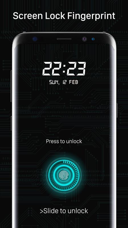 fingerprint lock apk