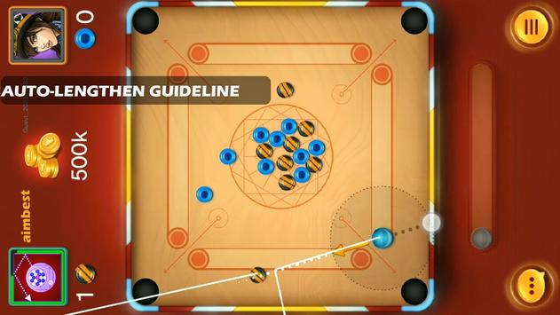 Aim best for Carrom Pool poster