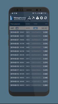 Mining Monitor 4 Ethermine pool スクリーンショット 4