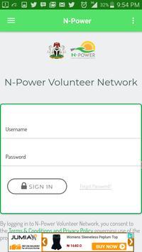 N-Power poster
