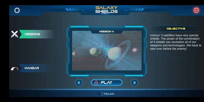 Galaxy Shields 海报
