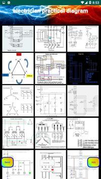 electrician practical diagram screenshot 4