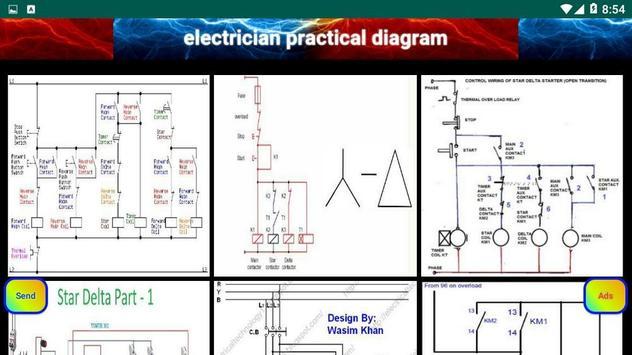 electrician practical diagram screenshot 5