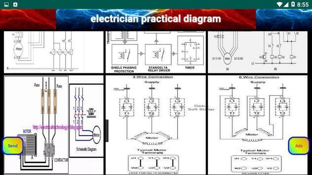 electrician practical diagram screenshot 7