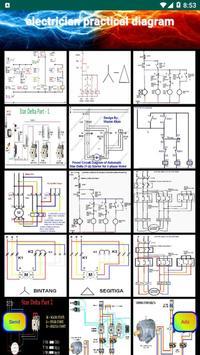 electrician practical diagram poster